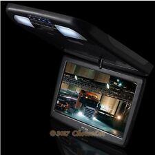 "12"" HD Flip Drop Down Monitor Camper Van Car 2CH AV In For DVD Player Display"