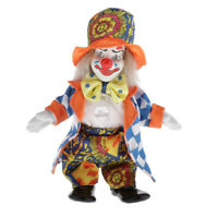 Make Up Joker With Comedic Pompous Cosplay Costume Standing Doll Clown Toy