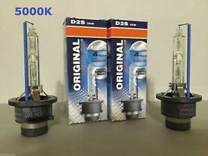 2PCS NEW D2S 66240 66040 5000K OEM HID XENON LIGHT BULBS SET HEADLIGHTS
