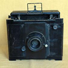 Anschutz Goerz 9x12 strut folding plate focal plane German camera CLAworks DAGOR
