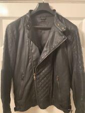 Zara Man - Biker Jacket - Black Tag - Faux Leather - Medium / 40