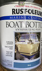 Rust-oleum Marine Boat Bottom Antifouling Paint- Quart Blue