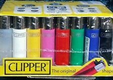 More details for 100% genuine original clipper lighter with random colours  x 5 ,10,20,40