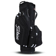 NEW Titleist Golf Lightweight Cart Bag 14-way Top Black 10+ Pockets