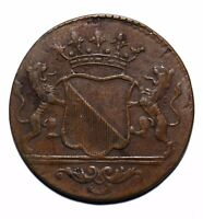 1794 Netherlands East Indies One 1 Duit Utrecht KM#111 - Lot 809