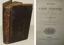 Histoire de la Garde Nationale par E. De Labedollière - H. Dumineray 1848, plch.