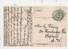 Miss Grace Vining Haselbrigge Road Clapham SW London 1906  056b