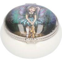 Nemesis Now Trinket Boxes - Annes Stokes, Lisa Parker Owl Cats Wolfs Fairy 5.5cm