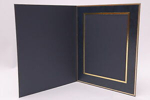 Denis Wright 8 x 6 Slip In Photo Mount 78 Series BLUE Portrait (Box of 25)