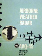 RCA AVQ 45 Radar Pilot's Operating handbook