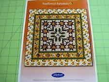 SUNFLOWER SERENADE 73 X 73 Quilt Kit + Free Motif Enlargement