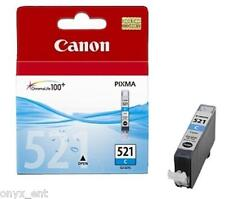 Genuine Canon CLI-521C Cyan Ink Cartridge for Pixma MP630 MP550 MP560