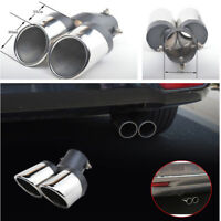Attractive Vechile Stainless Steel Car Rear Dual Exhaust Pipe Tail Muffler Tip
