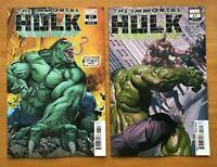 Immortal Hulk 27 2019 Tom Raney Variant Cover + Alex Ross Main Cover Marvel NM-