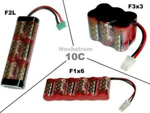 Hochstrom RC Akku XCell SCR 7.2V5000 mAh /mehrere Optionen...