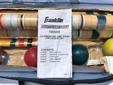 NEW Franklin Sports Outdoor - 6 Player Croquet Set ~ New In Bag! 13932S6