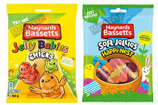 MAYNARDS BASSETTS JELLY CHICKS BAG 165g / HAPPI-NESTS BAG 165g PARTY TREATS GIFT