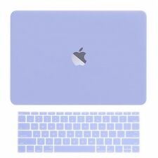 Serenity Blue Matte Hard Case+Keyboard Skin for Macbook Pro 13 WITHOUT Touch Bar