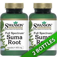 Swanson Suma Root(Brazilian Ginseng) 400 mg - 2X60 Caps (Pfaffia paniculata)
