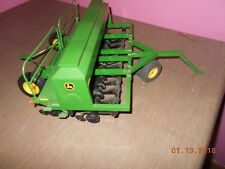 1/16 custom john deere 1590 grain drill seeder-front tricyle tires-pin hitch