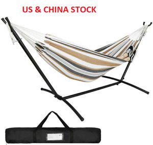 Portable Hammock with Stand for 2 person with Carrying case Outdo