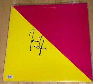 James Taylor signed LP Flag autographed vinyl record PSA