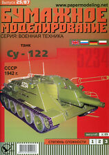 Sowjetische SU-122 (UdSSR 1942)  - Maßstab 1:25  OREL 25
