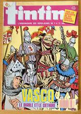 BD Comics Magazine Hebdo Journal Tintin No 49 42e 1987 Vasco
