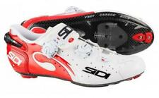 Sidi Wire Vent Carbon Men's Road Cycling Shoes Color White/Red Size 44.5