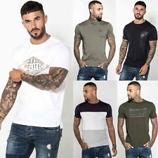 883 Police Mens Casual Cotton Fashion New Graphic Printed Designer T shirt Tee