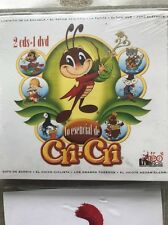 Cri-cri Spanish Songs For Kids set of 2 CD And 1 DVD 42 songs and 14 cartoons