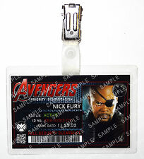 Marvel Avengers Nick Fury Superhero Cosplay Costume Prop Comic Con Christmas