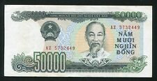 Vietnam banknote 50000 dong 1994 , AU condition ** Light fold in middle