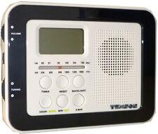 Omega 05085 Kitchen AM/FM Radio LCD Display Under Cabinet/Shelf Mounting