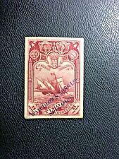Portuguese Timor, 1898, unperforated, overprinted specimen,  rare post stamp