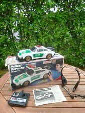 NIKKO Tronico RC POLIZEI PORSCHE 911 TURBO mit SPRECHFUNK 1985 >ferngesteuert<