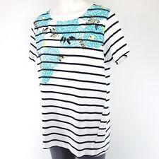 BOGNER Camiseta de mujer ILARIA 40 talla M L Varios Colores Algodón Rayas NP 169