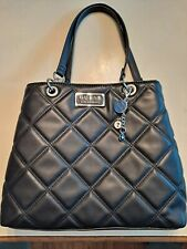 GUESS LOS ANGELES Black Quilted Tot