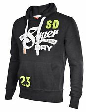 Superdry Men's Cali Tails Entry Pullover Hoodie L Graphite