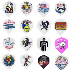 10 Sets Adult Themed Standard Wide Dart Flights High Quality Wholesale Price