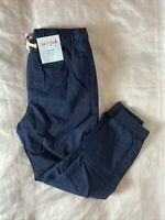 New Boy's Navy Blue Cat & Jack Fully Lined Pull On Jogger Pants Size 7