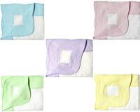"Handmade Baby Quilt For Nursery Toddler Warm Soft Baby Blanket Cotton 38""x48"""