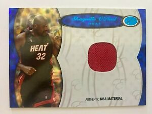 2006-07 Bowman Elevation SHAQUILLE O'NEAL Board of Directors Blue Relic,  36/79