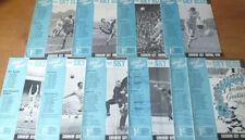 Written-on Coventry City Teams C-E Football Programmes