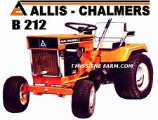 ALLIS CHALMERS B212 Garden Tractor tee shirt