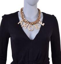 Künstliche runde Modeschmuck-Halsketten & -Anhänger aus Kristall