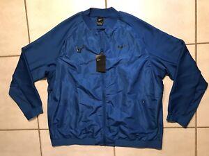 NWT NIKE Court Rafa Rafael Nadal Blue Tennis Jacket Men's 2XL MSRP $150