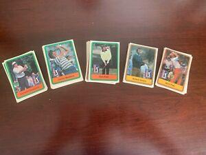 1981 Donruss Golf Cards ~ lot of 135 assorted cards ~ Minor Stars
