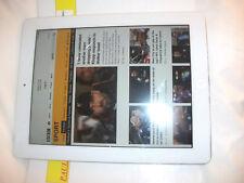 Apple iPad 2 64GB, Wi-Fi, 9.7in - White***ID LOCKED & CRACKED SCREEN***