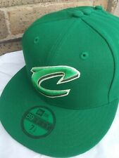 NWT NEW ERA CLEVELAND CAVALIERS LEAGUE POP ST PATRICK'S DAY GREEN HAT SIZE 7 1/8